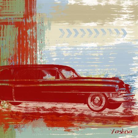 yashna-red-abstract-car