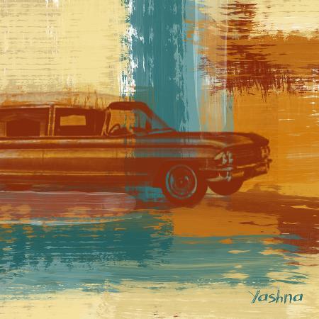 yashna-red-retro-car