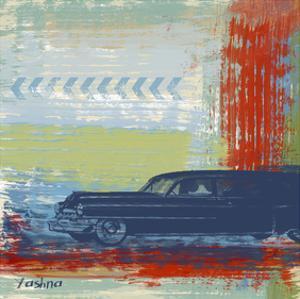 Retro Car by Yashna
