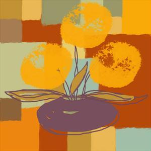 Vase with Yellow flowers by Yashna