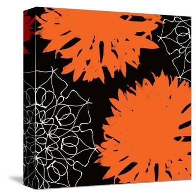 Vibrant orange floral