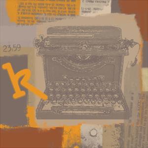 Vintage Typewriter II by Yashna