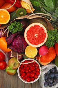 Fruits and Vegetable Closeup by Yastremska