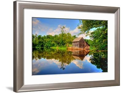 Yates Mill Pond-Simply Photos, nc-Framed Photographic Print