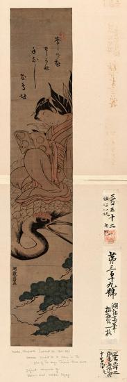 Yatsushi [Shi or Hi?]Chobo-Isoda Koryusai-Giclee Print