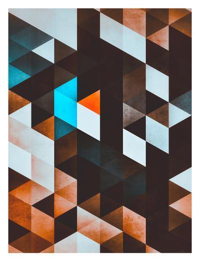 ydd_yvyn-Spires-Art Print