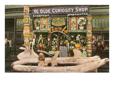 Ye Olde Curiosity Shop, Seattle, Washington--Art Print