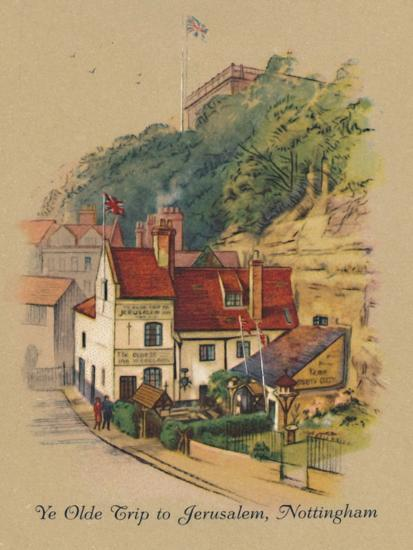 'Ye Olde Trip to Jerusalem, Nottingham', 1939-Unknown-Giclee Print