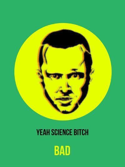 Yeah Science Poster 2-Anna Malkin-Art Print