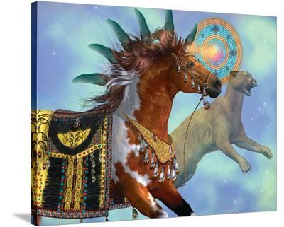 Year of the Cougar Horse--Stretched Canvas Print