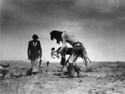 Yeibichai Ceremony, c1905-Edward S^ Curtis-Giclee Print