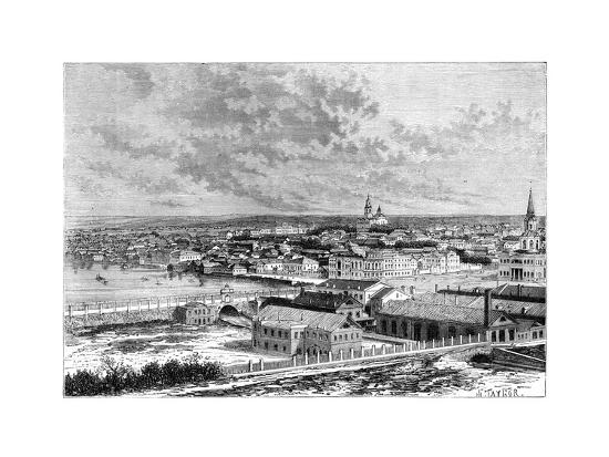 Yekaterinburg, Russia, 1895--Giclee Print