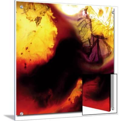 Yellow and Dark Combination, c. 2008-Pier Mahieu-Art on Acrylic