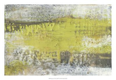 Yellow and Grey Serenity I-Jennifer Goldberger-Premium Giclee Print