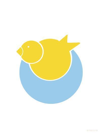 Yellow Bird Nest-Avalisa-Art Print