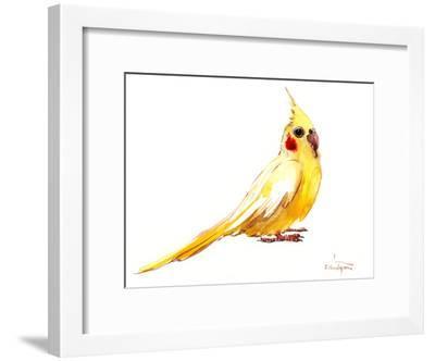 Yellow Bird-Suren Nersisyan-Framed Art Print