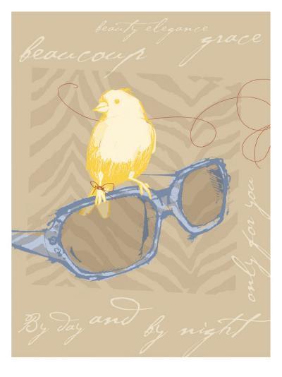 Yellow Bird--Giclee Print