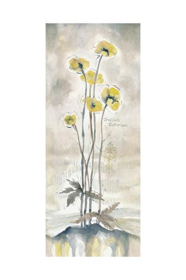 Yellow Blossoms I-Margaret Ferry-Art Print