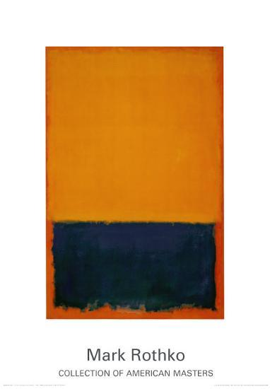 Yellow, Blue, Orange, 1955-Mark Rothko-Art Print