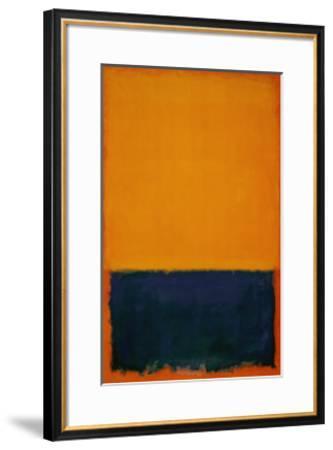 Yellow, Blue, Orange, 1955-Mark Rothko-Framed Art Print