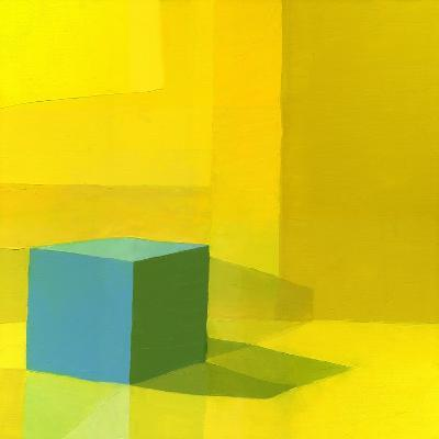 Yellow / Blue-Daniel Cacouault-Giclee Print