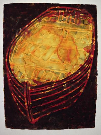 Yellow Boat, 2007-Graham Dean-Giclee Print
