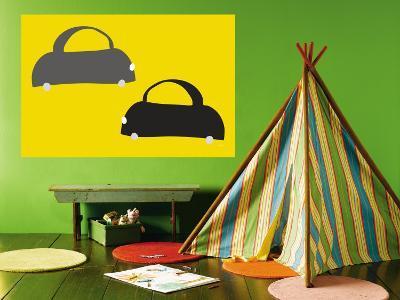 Yellow Cabs-Avalisa-Wall Mural