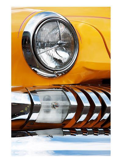 Yellow Car Fender & Headlight--Art Print
