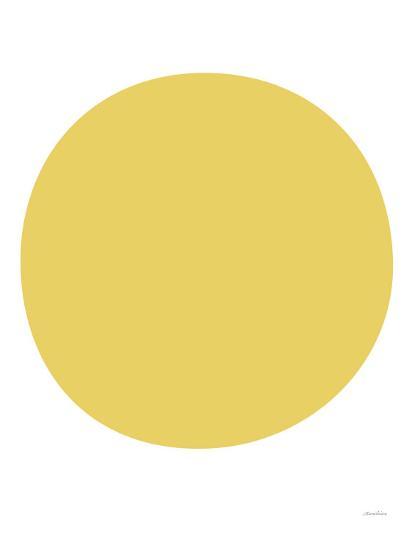 Yellow Circle-Avalisa-Art Print