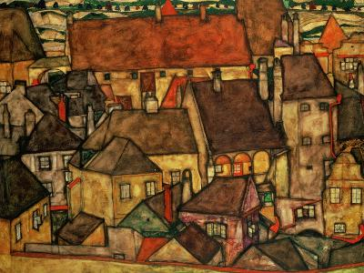 Yellow City, 1914-Egon Schiele-Giclee Print