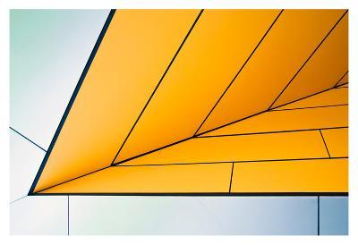 yellow dart-Linda Wride-Art Print