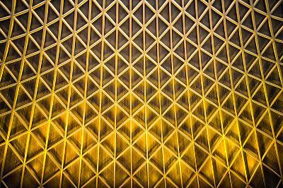 Yellow Diamonds-Adrian Campfield-Photographic Print