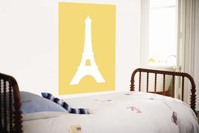 Yellow Eiffel Tower-Avalisa-Wall Mural