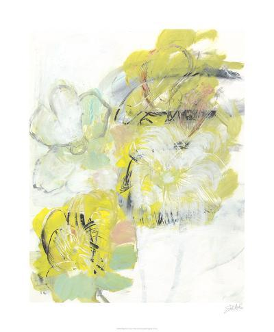 Yellow Floral Abstract I-Jodi Fuchs-Limited Edition