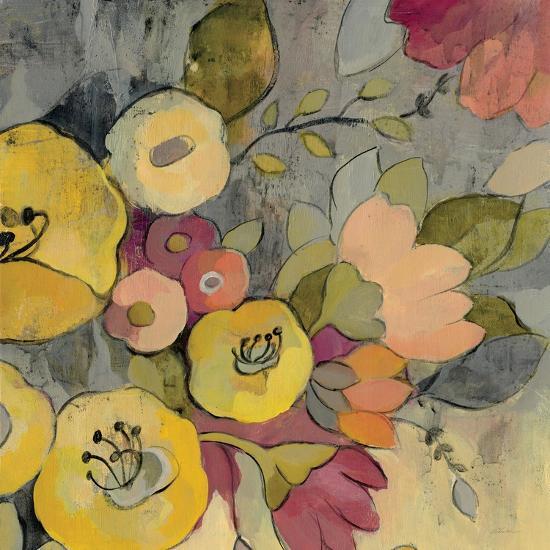 Yellow Floral Duo I Crop-Silvia Vassileva-Art Print