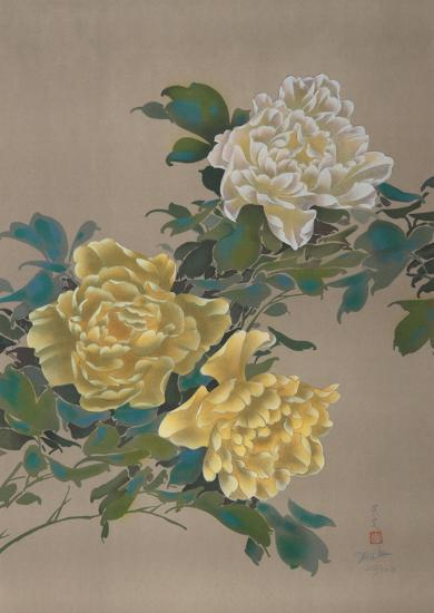 Yellow Flowers 13-David Lee-Limited Edition