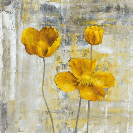 Yellow Flowers II-Carol Black-Art Print