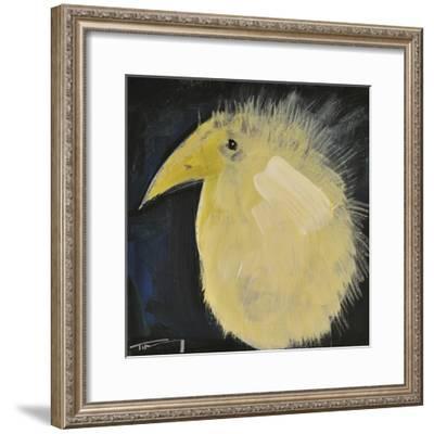 Yellow Fuzzy Bird-Tim Nyberg-Framed Giclee Print