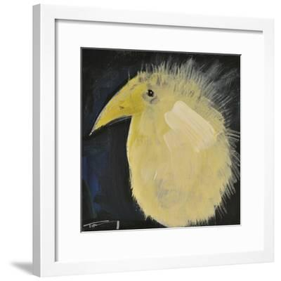 Yellow Fuzzy Bird-Tim Nyberg-Framed Giclee Print