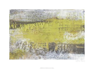 Yellow & Grey Serenity I-Jennifer Goldberger-Limited Edition
