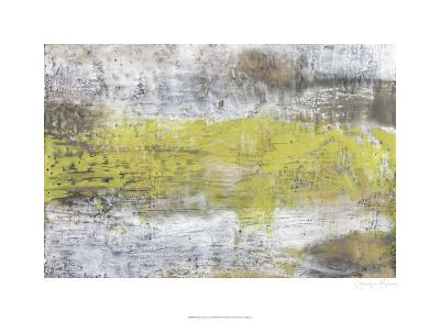 Yellow & Grey Serenity II-Jennifer Goldberger-Limited Edition