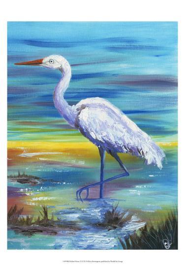Yellow Heron II-Olivia Brewington-Art Print