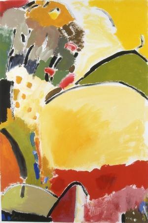 Yellow Hill-Kim Parker-Giclee Print
