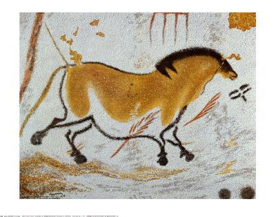 Yellow Horse--Art Print