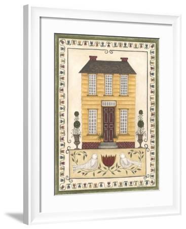 Yellow House-Cindy Shamp-Framed Art Print