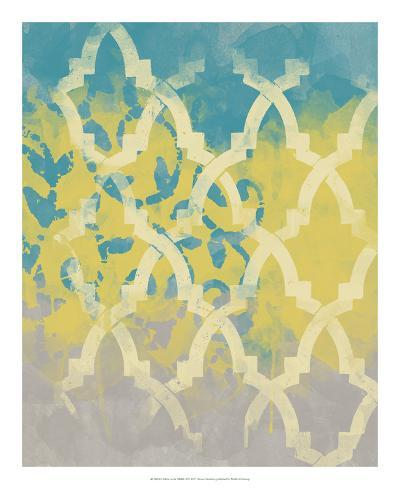 Yellow in the Middle II-Alonzo Saunders-Art Print