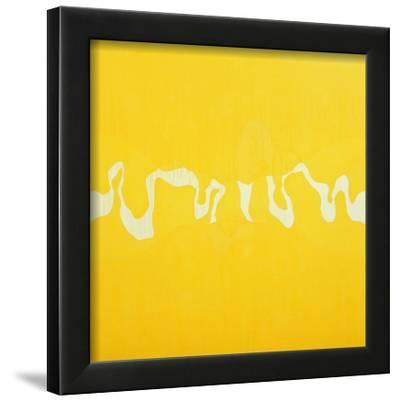 Yellow Journey-Charlie Millar-Framed Giclee Print