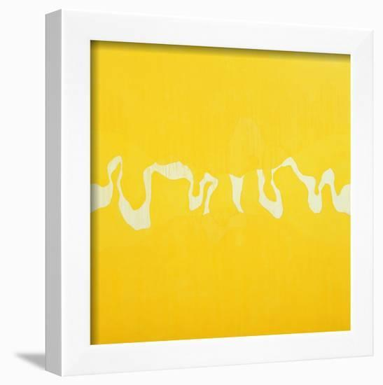 Yellow Journey-Charlie Millar-Framed Giclee Print