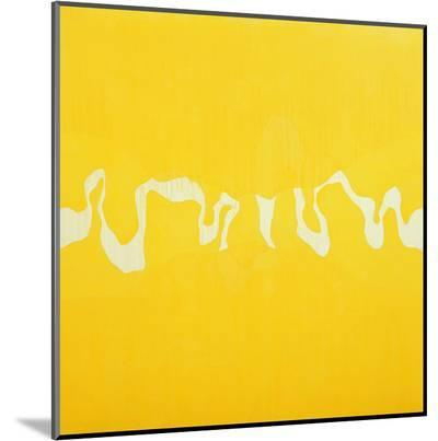 Yellow Journey-Charlie Millar-Mounted Print