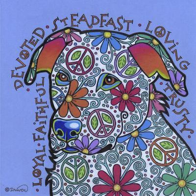 Yellow Labrador-Denny Driver-Giclee Print